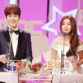 Kyuhyun Super Junior dan Cao Lu Fiestar di MBC Entertainment Awards 2015