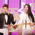 Jun Hyun Moo dan Jessi di MBC Entertainment Awards 2015