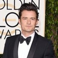 Orlando Bloom di Red Carpet Golden Globes Awards 2016