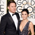 Channing Tatum dan Jenna Dewan di Red Carpet Golden Globes Awards 2016