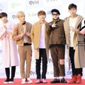 Monsta X di Red Carpet Seoul Music Awards 2016