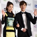 Kim Sae Ron dan Kim Min Jae di Red Carpet Seoul Music Awards 2016