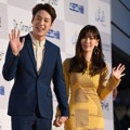 Kwak Si Yang dan Kim So Yeon di Red Carpet Seoul Music Awards 2016