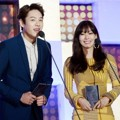 Kwak Si Yang dan Kim So Yeon di Seoul Music Awards 2016