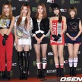 EXID di Red Carpet Golden Disc Awards 2016