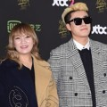 San E dan Kang Min Hee Miss  di Red Carpet Golden Disc Awards 2016