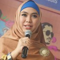 Oki Setiana Dewi di Jumpa Pers Film 'Demi Cinta'