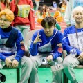 Jimin, J-Hope dan Rap Monster BTS di Acara 'Idol Star Athletics Championships 2016'
