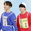 J-Hope Bangtan Boys dan Youngjae B.A.P di 'Idol Star Athletics Championships 2016'
