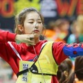 Seulgi Red Velvet di Lomba Panahan 'Idol Star Athletics Championships 2016'