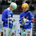 Suga dan Jimin Bangtan Boys di 'Idol Star Athletics Championships 2016'