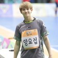 Yoseob Beast Saat Pertandingan Futsal 'Idol Star Athletics Championships 2016'