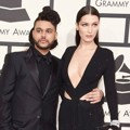 The Weeknd dan Bella Hadid di Red Carpet Grammy Awards 2016