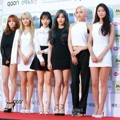 AOA di Red Carpet Gaon Chart K-Pop Awards 2016
