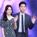 Serasinya Song Joong Ki dan Song Hye Kyo di Jumpa Pers Drama 'Descendants of the Sun'