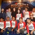 Konferensi Pers Grand Final Vidio.com Music Battle