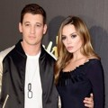 Miles Teller dan Keleigh Sperry di Red Carpet MTV Movie Awards 2016