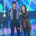 Aliando dan Prilly Latuconsina di SCTV Music Awards 2016