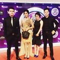Christ Laurent, Ochi Rosdiana, Rosiana Dewi dan Lucky Perdana di SCTV Music Awards 2016