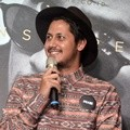 Keenan Pearce di Press Conference AXelerate: The Series