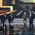 Arie Untung, Tanta Ginting, Nirina Zubir dan Daniel Mananta di Indonesia Movie Actors Awards 2016
