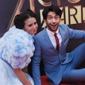 Ayushita dan Reza Rahadian di Red Carpet IMA Awards 2016