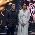 Dimas Anggara dan Prisia Nasution di Indonesia Movie Actors Awards 2016