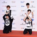 Aksi Imut BTOB di Red Carpet Dream Concert 2016