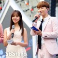 Hong Jong Hyun, Kim So Hyun dan Leeteuk Super Junior Saat Jadi MC Dream Concert 2016