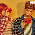 Akdong Musician di Majalah Dazed and Confused Edisi Juni 2016