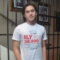 Rizky Nazar di Launching Soundtrack Film 'I Love You from 38000 Ft'