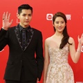 Kris dan Liu Yifei di Shanghai International Film Festival 2016