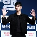 Kim Soo Hyun di VIP Premiere Film 'Train to Busan'