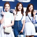 Yena, Naeun, Chaewon April di VIP Premiere Film 'Train to Busan'