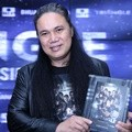 Damien Dematra di Launching Novel 'Triangle The Dark Side'