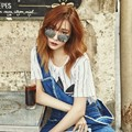 Tiffany Girls' Generation di Majalah InStyle Edisi April 2016
