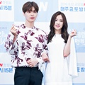 Ahn Jae Hyun dan Na Eun A Pink di Jumpa Pers Drama 'Cinderella and the Four Knights'