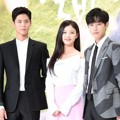 Park Bo Gum, Kim Yoo Jung dan Jinyoung B1A4 di Jumpa Pers Drama 'Love in the Moonlight'
