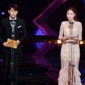 Kang Min Hyuk CN Blue dan Gong Hyun Joo di Seoul International Drama Awards 2016