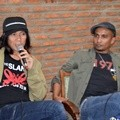 Bimbim dan Ivanka Slank di Jumpa Pers 'Liztomania with Slank: Not for Sale'