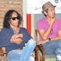 Kaka dan Ridho Slank di Jumpa Pers 'Liztomania with Slank: Not for Sale'