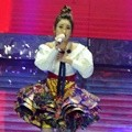 Ayu Ting Ting di HUT Global TV 'Amazing 14'