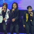 Once Mekel, Ipang dan Armand Maulana di HUT Global TV 'Amazing 14'