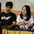 Iko Uwais dan Chelsea Islan di Event 'Headshot Goes to Binus University'