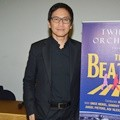 Addie MS di Konferensi Pers Tribute The Beatles