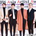 VIXX di Red Carpet Asia Artist Awards 2016