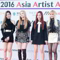 Black Pink di Red Carpet Asia Artist Awards 2016