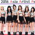 AOA di Red Carpet Asia Artist Awards 2016