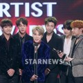 Bangtan Boys Raih Piala Best Icon Award