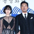 Bae Doona dan Ha Jung Woo di Red Carpet Blue Dragon Awards 2016